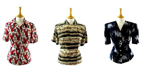 1990s blouses