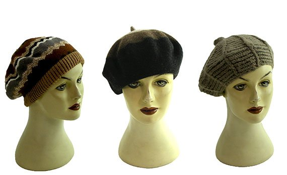 Womens vintage berets
