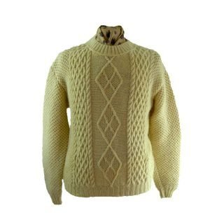 Mens Cable Knit Sweaters