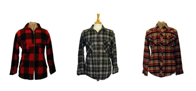 vintage plaid shirts