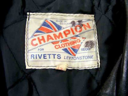 Vintage biker jackets - Rivetts-Champion-Biker-jacket-label