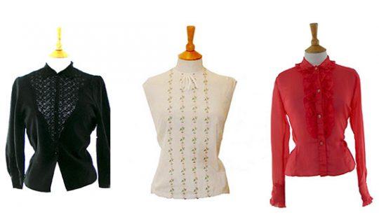 womens 1960s tops