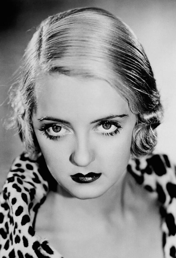Bette Davis, 1930s.