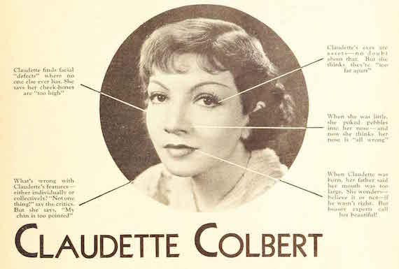 Claudette Colbert gets picked apart by the experts.