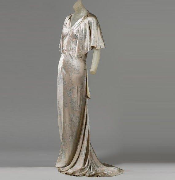 Vionnet Gown, 1930s.