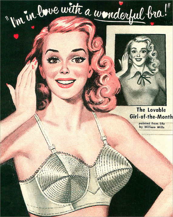 50s Fashion bra