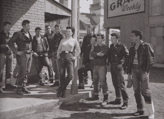jeans in the 1950s