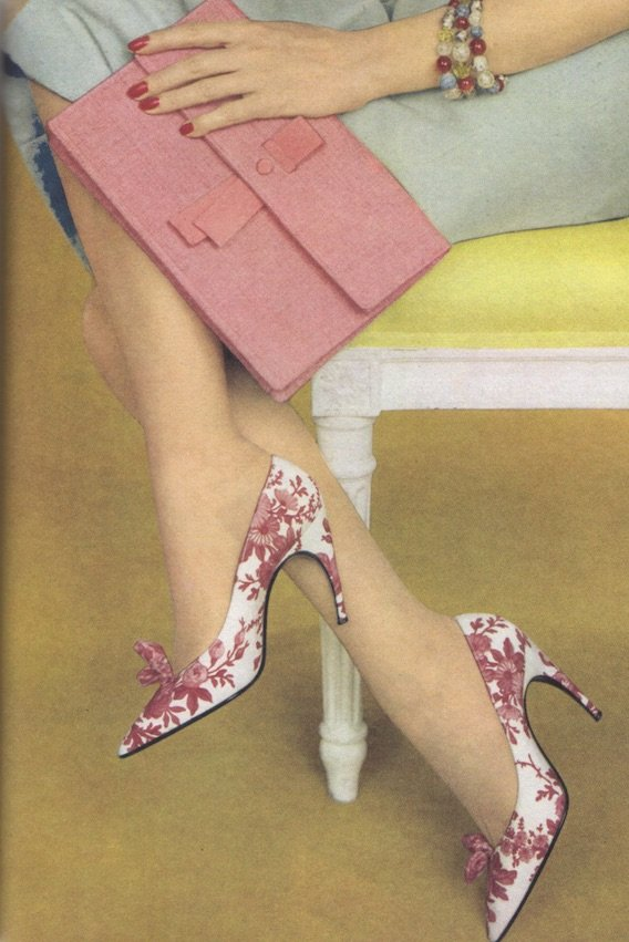 1950s stilleto shoes