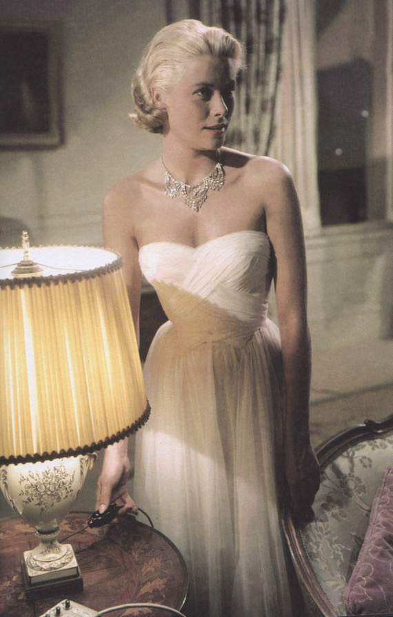 Grace Kelly in 50s Evening dress