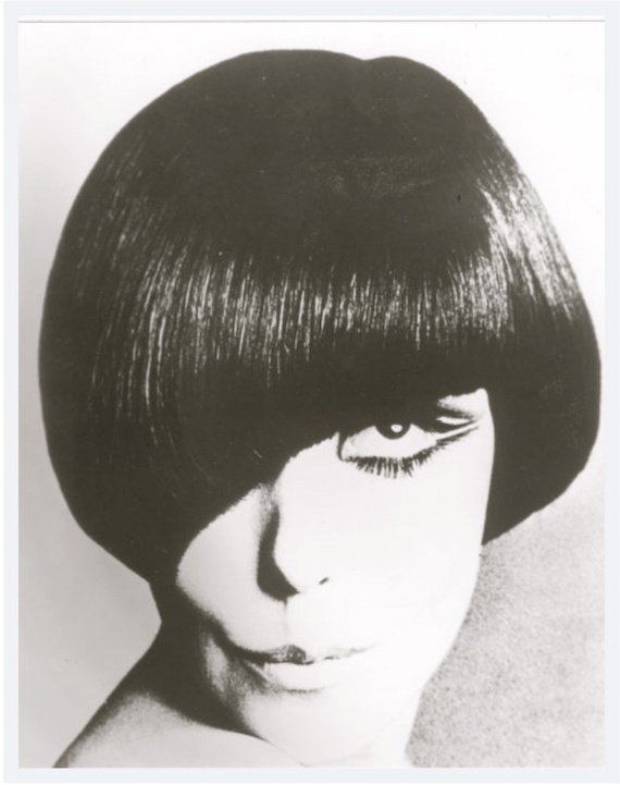 A 1960s vidal sassoon haircut