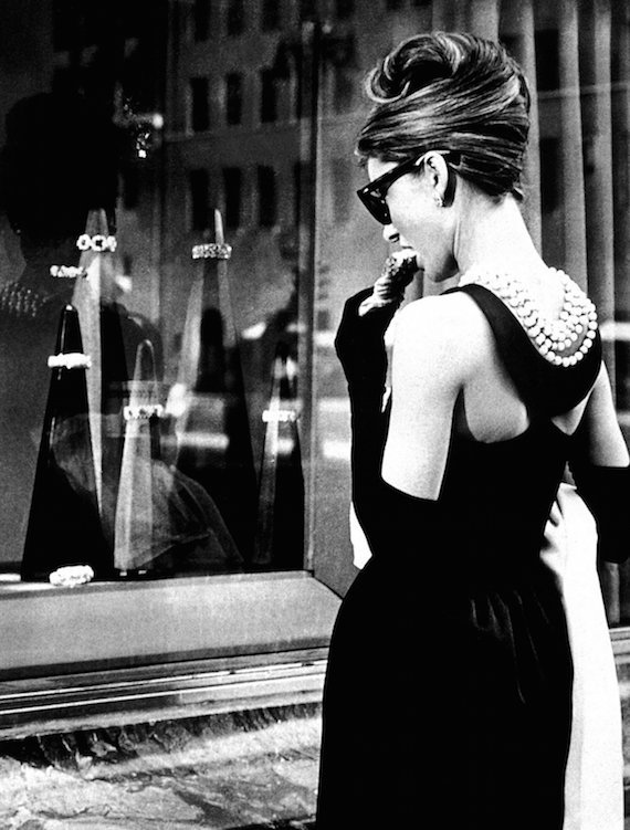 1960s evening wear, BREAKFAST AT TIFFANY'S, Audrey Hepburn, 1961