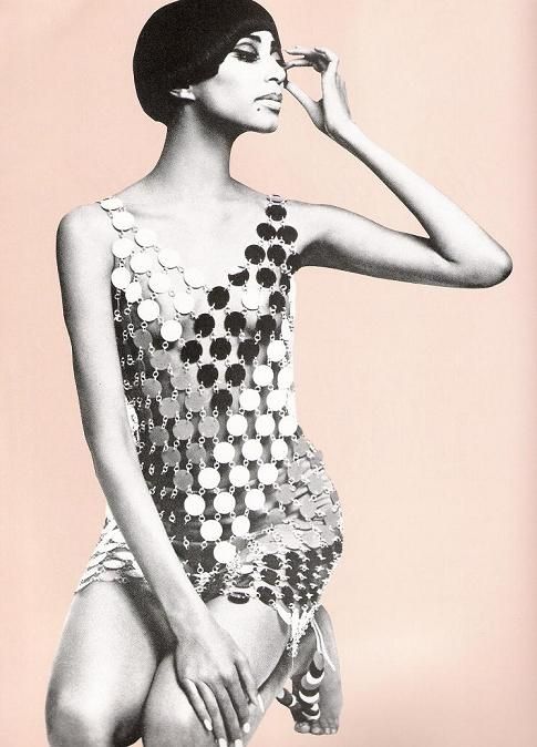 paco rabanne 1960s fashion design