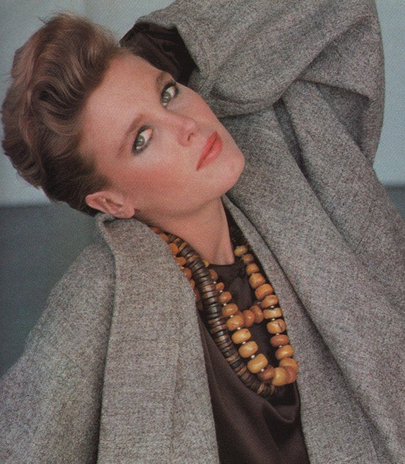 fashion in the 1980s - Chunky beads, 1988