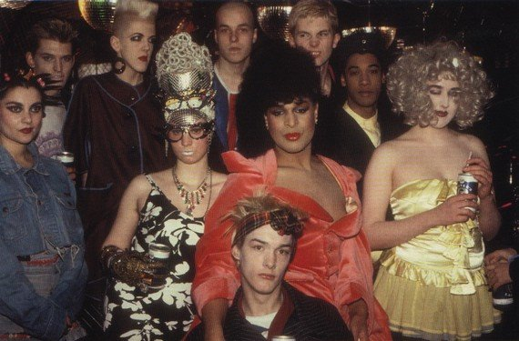 Clubbers at Taboo, London, 1985. Photo by Mr Hartnett.