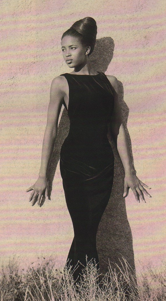 1980s Hairstyle - Sculptural updo, 1988.