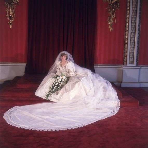 Wedding dress of Lady Di