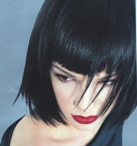 Dramatic red lip, 1999