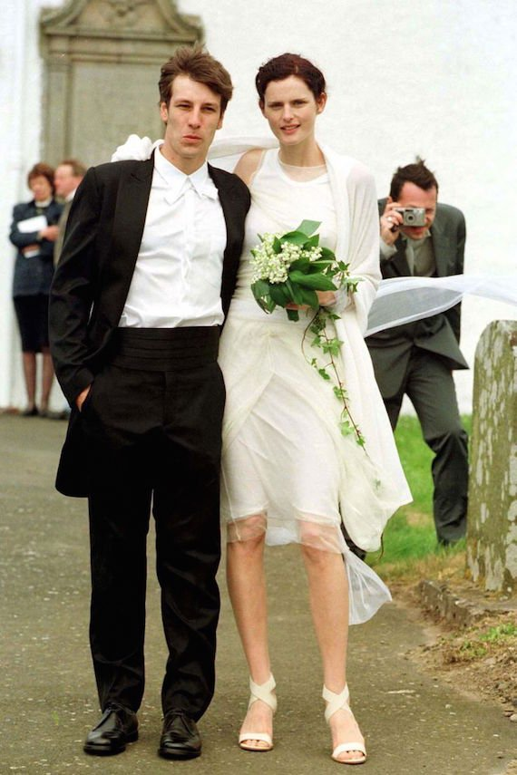 Stella Tennant getting married in 1999