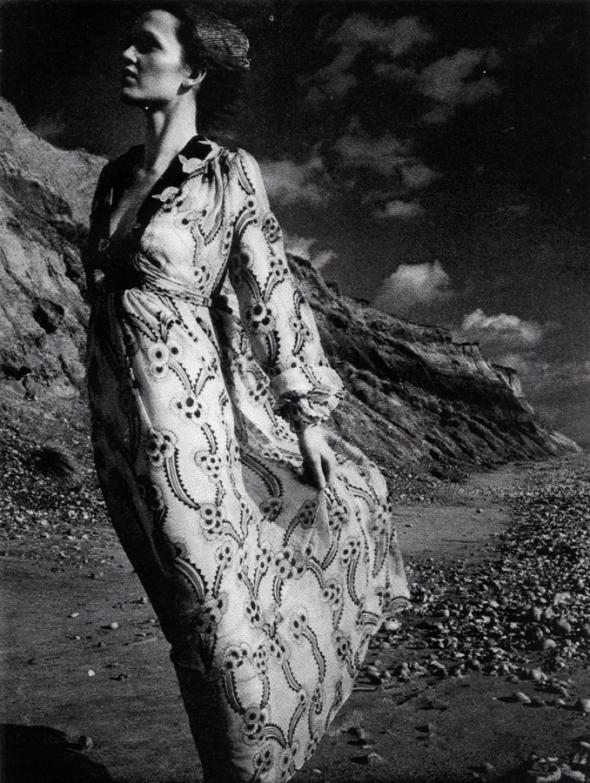 An Ossie Clark gown